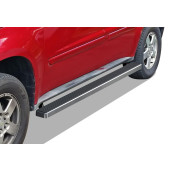 2005-2009 Chevy Equinox 6061 Aircraft Aluminum Hairline Finishing Istep 4 Inch Sidestep