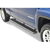 2007-2018 Chevy/Gmc Silverado/Sierra 1500 Extended Cab/Double Cab 2007-2018 2500/3500 Extended Cab/Double Cab (Incl. Diesel Models With Def Tanks) 6061 Aircraft Aluminum Hairline Finishing Istep 6 Inch Sidestep