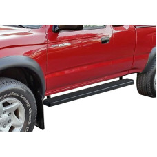 1995-2004 Toyota Tacoma Ext. Cab (4Wd Or Prerunner 2/4Wd) 6061 Aircraft Aluminum Black Finishing Istep 4 Inch Sidestep