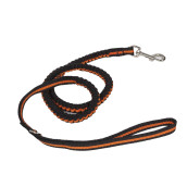Pet Life Retract-A-Wag Shock Absorption Stitched Durable Dog Leash - One Size - Orange