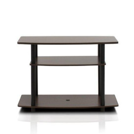 Furinno 13192EX/BK Turn-N-Tube No Tools 3-Tier TV Stands