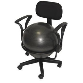 Ball Chair Deluxe - Black Steel Structure