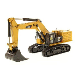 CAT Caterpillar 390F LME Hydraulic Tracked Excavator with Operator High Line Series 1/50 Diecast Model by Diecast Masters