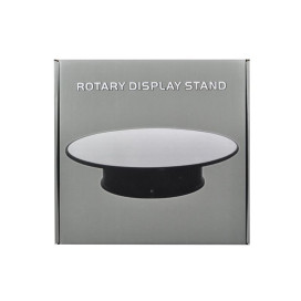 Rotary Display Stand 10 For 1/18 1/24 1/64 1/43 Model Cars With Mirror Top