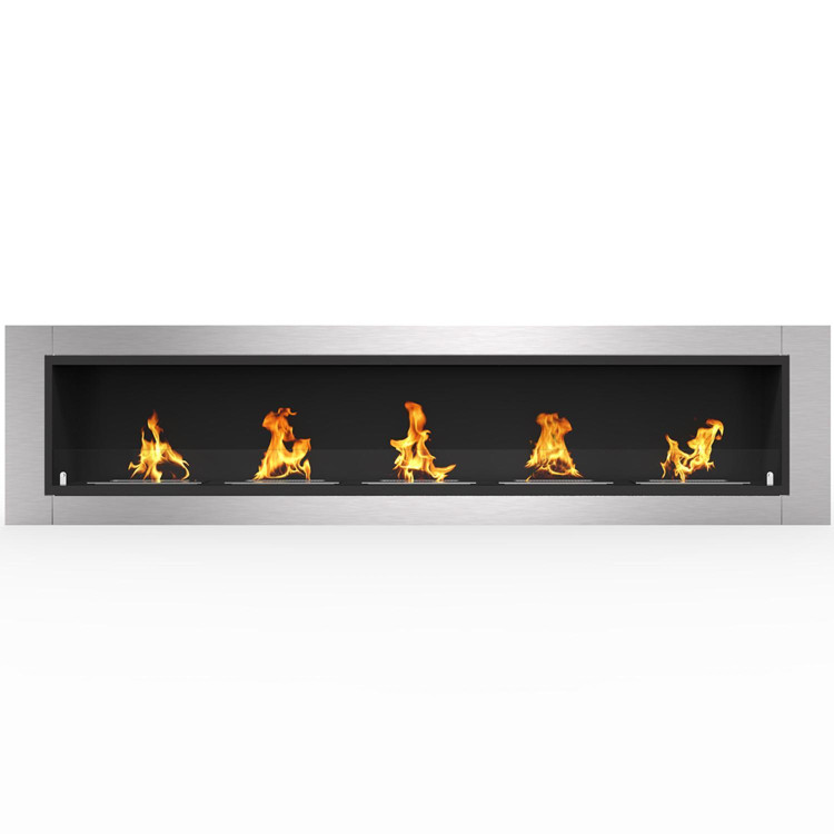 Regal Flame Cambridge 71 Ventless Built In Wall Recessed Bio Ethanol Wall Mounted Fireplace Similar Electric Fireplaces, Gas Logs, Fireplace Inserts, Log Sets, Gas Fireplaces, Space Heaters, Propane