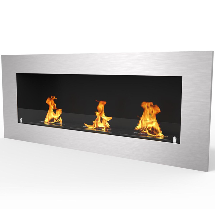 Regal Flame Warren 50 PRO Ventless Built In Wall Recessed Bio Ethanol Wall Mounted Fireplace Similar Electric Fireplaces, Gas Logs, Fireplace Inserts, Log Sets, Gas Fireplaces, Space Heaters, Propane