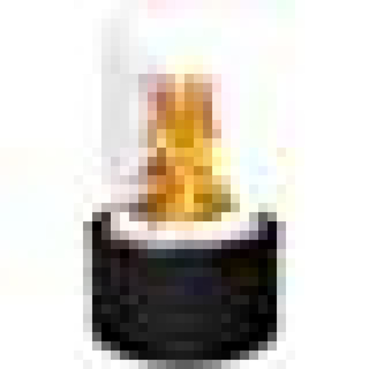 Moda Flame Ghost Ventless Indoor Outdoor Fire Pit Tabletop Portable Fire Bowl Pot Bio Ethanol Fireplace in Black - Realistic Clean Burning Like Gel Fireplaces, or Propane Firepits - ET7001BLK-MF