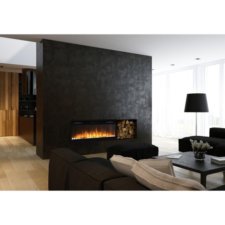 Regal Flame Lexington 35 Pebble Built in Wall Ventless Heater Recessed Wall Mounted Electric Fireplace Better than Wood Fireplaces, Gas Logs, Inserts, Log Sets, Gas Fireplaces, Space Heaters
