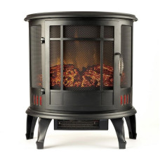 Regal Flame 22 Heater Vent Free Curved Electric Fireplace Stove Better than Wood Fireplaces, Gas Logs, Wall Mounted, Log Sets, Gas, Space Heaters, Propane, Gel, Ethanol, Tabletop