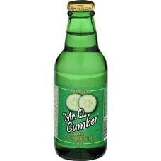 Mr Q Cumber, Soda Cucumber, 7 Fo, (Pack Of 24)