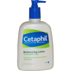 Moisturizing Lotion for all Skin Types Cetaphil Lotion for Unisex 16 oz